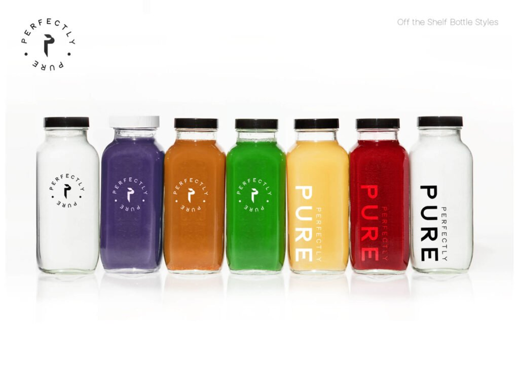 Perfectly Pure Juice Bottles