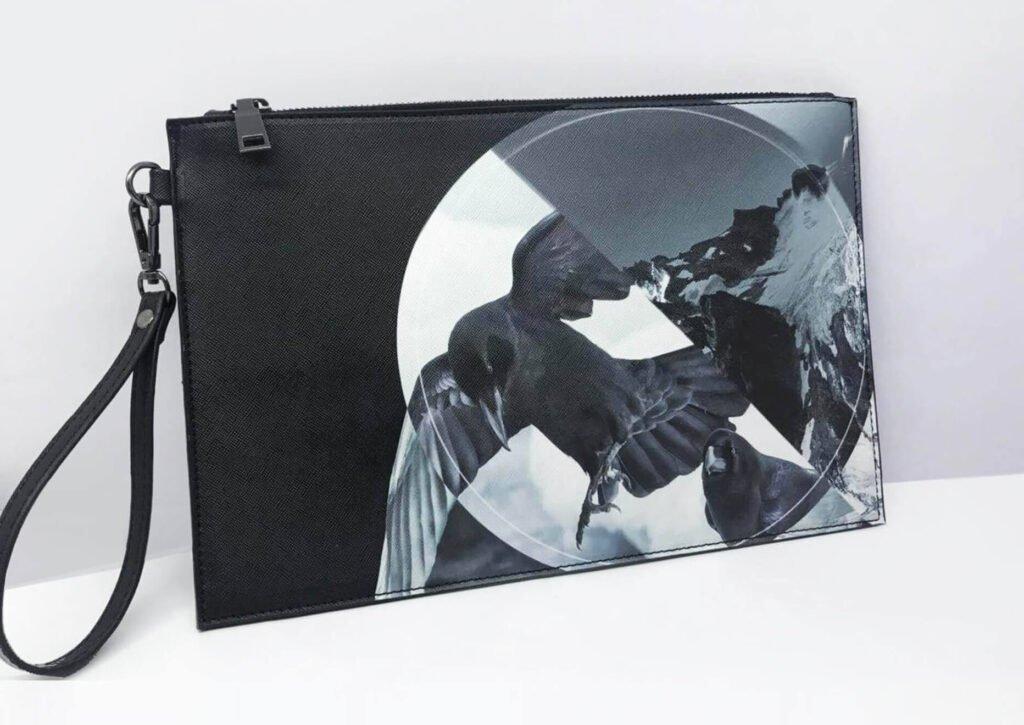 Ravens Clutch Bag