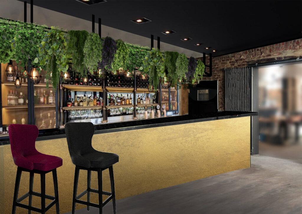 Vinstua Bar Mock-up Design