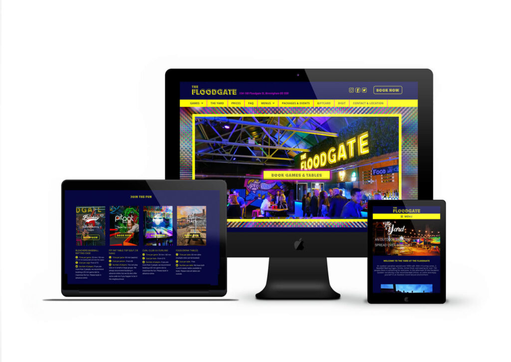 Experiential Booking Website