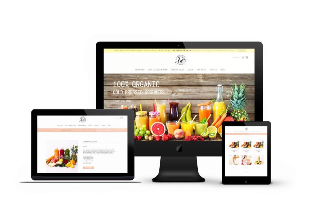 Juice E-commerce Website