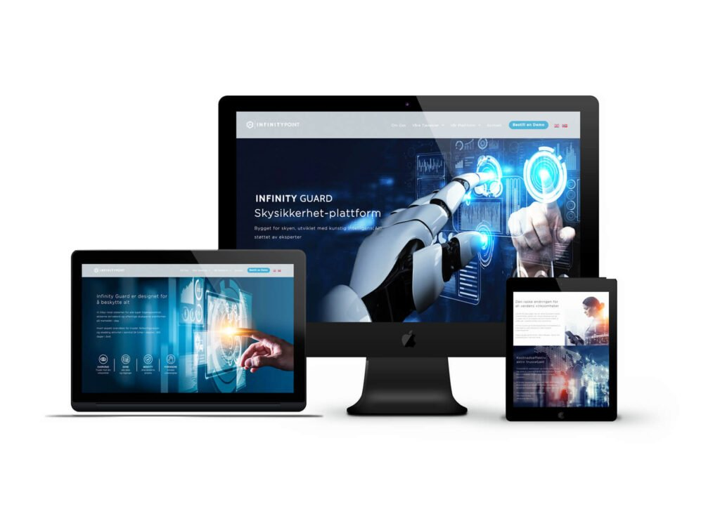 Infinity Point Cyber Security Website